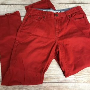 Men's Mossimo Supply Co. Red Cotton Pant